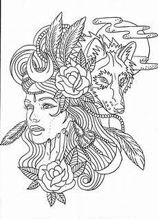 Malvorlagen Wolf Legend Wolf Tattoos Malb 252 Cher Malen Und