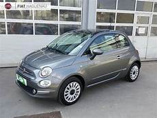 occasions fiat 500 voiture fiat 500 occasion 1 2 8v 69ch lounge he25 vd505970 haguenau