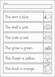 colors review worksheets 12802 13 best images of read and color worksheets kindergarten kindergarten math review worksheets