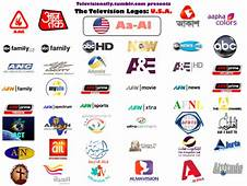 Televisionally  American Television Logos The Complete