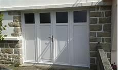 porte de garage battante et portillon int gr ouverture la