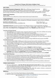 creative mba hr resume format mba hr resume format for experienced sidemcicek com gfortran