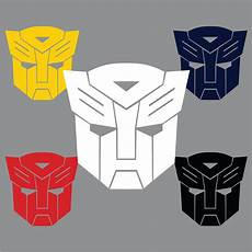 transformers logo autobot symbol die cut vinyl decal