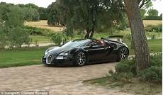 Cristiano Ronaldo Bugatti by Cristiano Ronaldo Shows Bugatti Veyron As Real Madrid