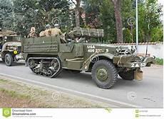 V 233 Hicule Militaire De Vieux Half Track Image Stock