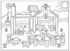 ausmalbilder playmobil bauernhof kinder ausmalbilder