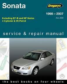 car maintenance manuals 2000 hyundai sonata electronic throttle control hyundai sonata 1998 2007 gregorys owners service repair manual 1563928647 9781563928642