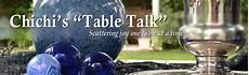 chichi s quot table talk quot