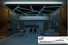 decke abhängen led led light system spanndeckenmann