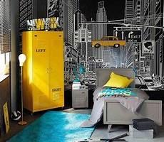 chambre enfant new york un style new york une id 233 e chambre gar 231 on ado en 2019