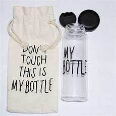 online shop quot my bottle quot 500 korea style plastic clear portable sportive water bottle with