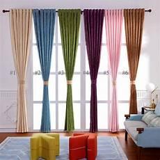 chenille vorhang vorhang uni farbe aus chenille stoff imitation