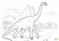 Dinosaurier Brachiosaurus Ausmalbilder Ausmalbild Brachiosaurus Dinosaurier Ausmalbilder