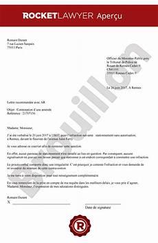 comment contester une amende de stationnement contester une amende lettre de contestation