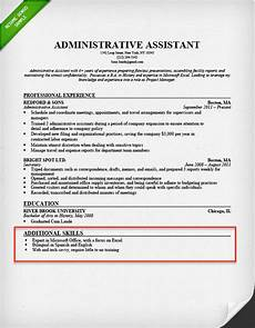 sle resume with computer skills section how to write