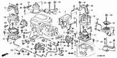 2007 honda accord engine diagram honda store 2007 accord engine mounts v6 mt parts
