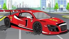 la voiture de course dessins anim 233 s fran 231 ais un