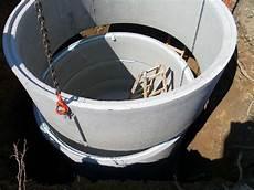 Betonringe Zisterne Eckventil Waschmaschine