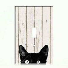 black cats light wall black cat light switch plate wall cover pet decor ebay