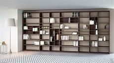 mobile libreria a parete libreria componibile a parete systema p sololibrerie