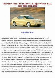 how to download repair manuals 2000 hyundai tiburon navigation system hyundai coupe tiburon service repair manual 1 by john johnchimento issuu