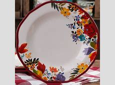"""The Pioneer Woman Timeless Floral 11"""" Dinner Plate"""