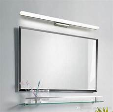 online cheap bathroom mirror light led wall light mirror front makeup led lighting waterproof