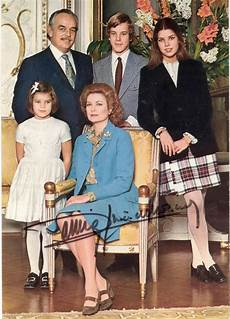 Prince Rainier Iii Monaco Picture Post Card Signed