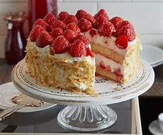 Erdbeer Ricotta Torte Rezept Essen Trinken