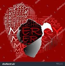 merry christmas text heart shape silhouette stock vector 513453853