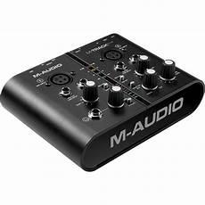 M Audio M Track Plus Usb Audio Midi Interface Mtrack