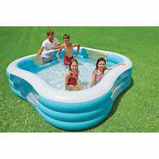 piscine gonflable carr 233 hublot achat vente pataugeoire