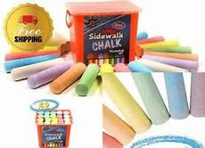 Amazon Com Chalk City Sidewalk Chalk 20 Count Chalk City Sidewalk Chalk 20 Count 7 Different Colors