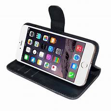 iphone 7 tasche leder bookstyle tasche mit lasche f 252 r iphone 7 schwarz 9 90