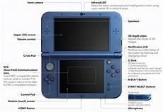 new nintendo 3ds xl console metallic blue the gamesmen