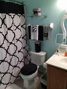 Black And Blue Bathroom Ideas Black White And Blue Bathroom Home Interiors I In