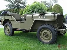 Willys 1942 Slat Grill MB Jeep