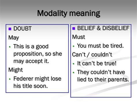 Modal Proposition