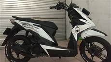 Modifikasi Beat New by Modifikasi New Honda Beat 2018 Penambahan Sticker