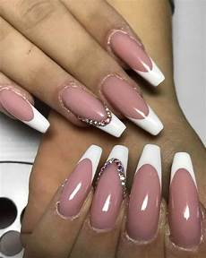 38 gorgeous french tip nails designs for a stylish women