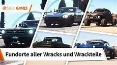 Need For Speed Payback Fundorte Aller Wracks Und