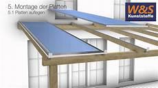 montageanleitung stegplatten mit schraubprofilen