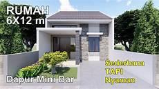 Renovasi Rumah Type 36 72 2 Kamar Tidur Dengan Dapur Mini