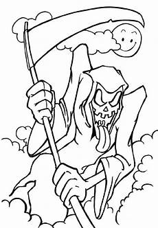 free scary coloring pages printable scary