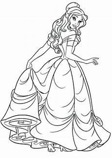 Malvorlagen Princess Prinzessin Malvorlagen Coloring Pages
