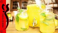 Limonade Selbst Machen Sch 246 N Erfrischend Mit Zitrone