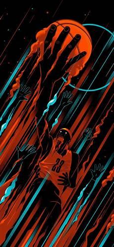 Wallpaper Iphone X Basketball basketball iphone x black wallpaper wallpapers in 2019