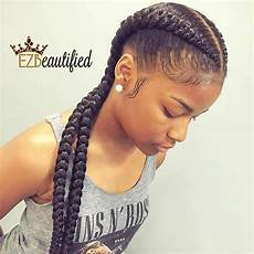 two cornrow boxer braids braid styles natural hair