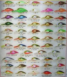 Pre Rapala Wiggle Wart Color Chart De Mystifying The Wiggle Wart Page 4 Table Rock Lake