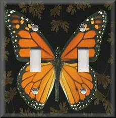 butterfly home decor light switch plate cover monarch butterfly insect home